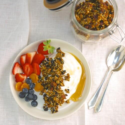Blueberry Turmeric Granola