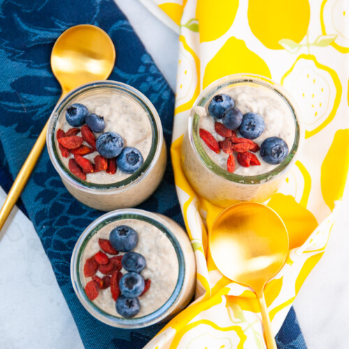 Lemon Ginger Chia Pudding
