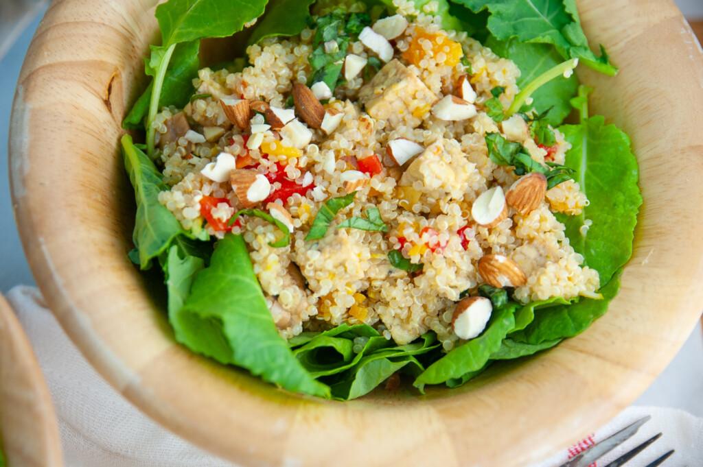 Tempeh Quinoa Salad