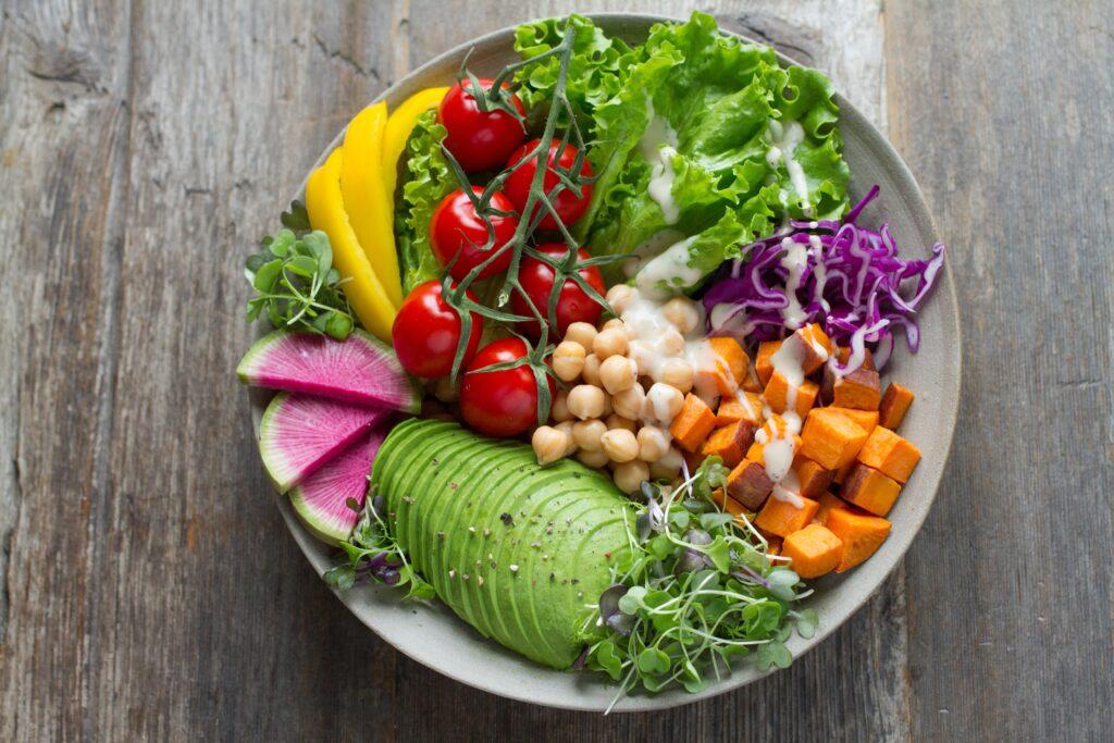 salad for hormone balance
