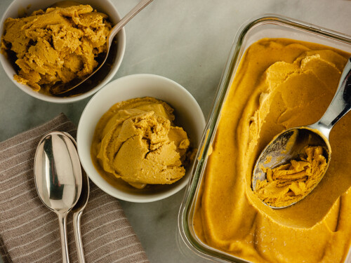 Pumpkin Spice Nice Cream
