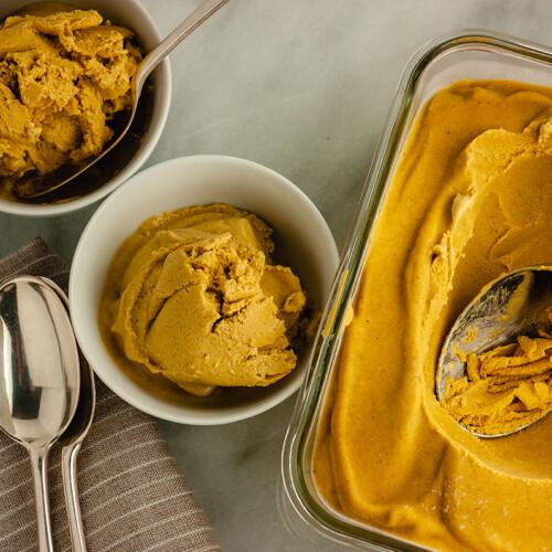 Pumpkin Spice Nice Cream