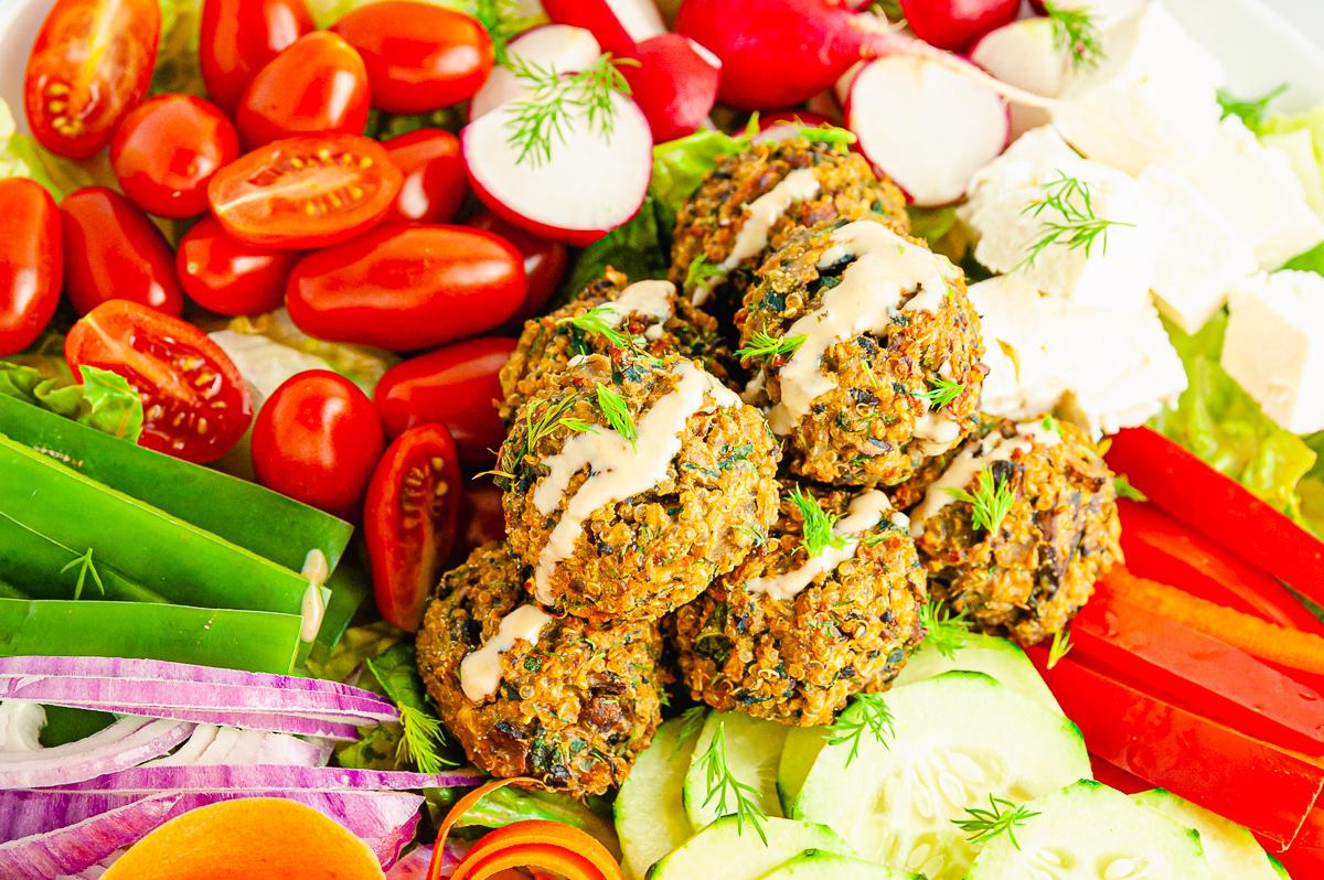 quinoa vegetable meatballs