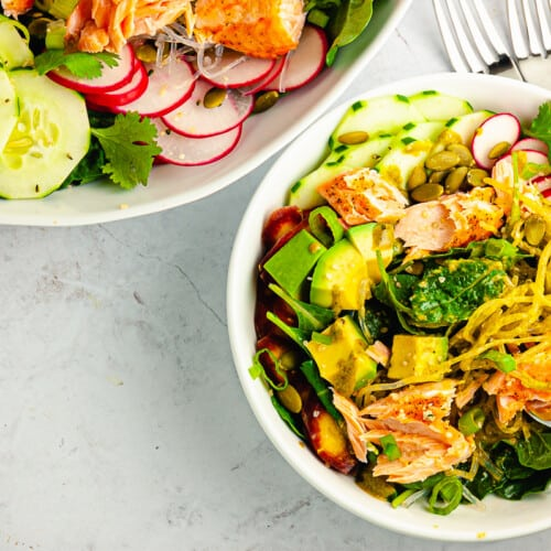 Salmon Protein Salad