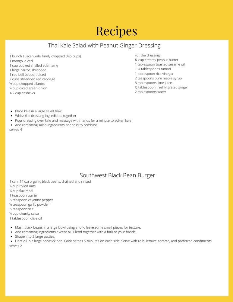 meal plan for perimenopause 2