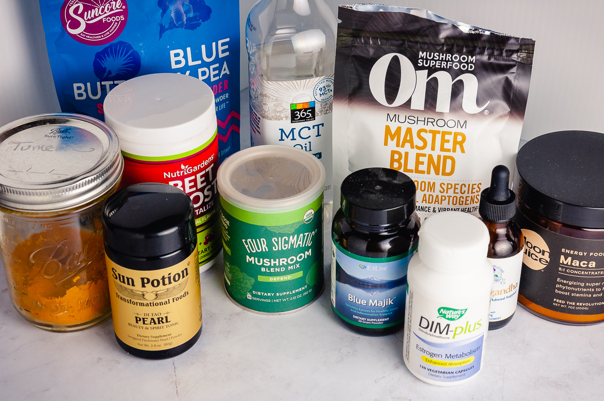 supplements for a smoothie