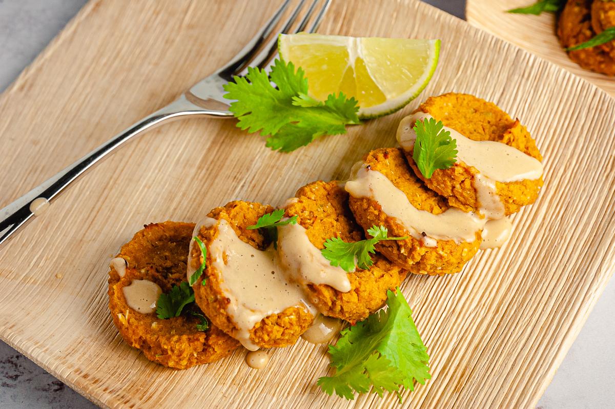Sweet Potato Chickpea Cakes