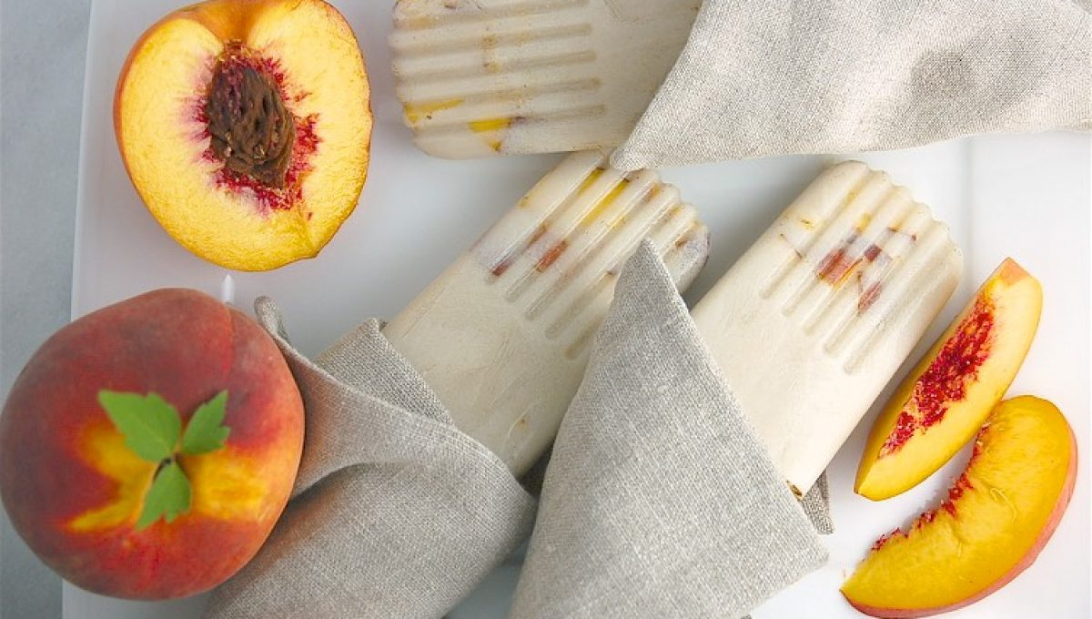 Gingery Peach Popsicles1