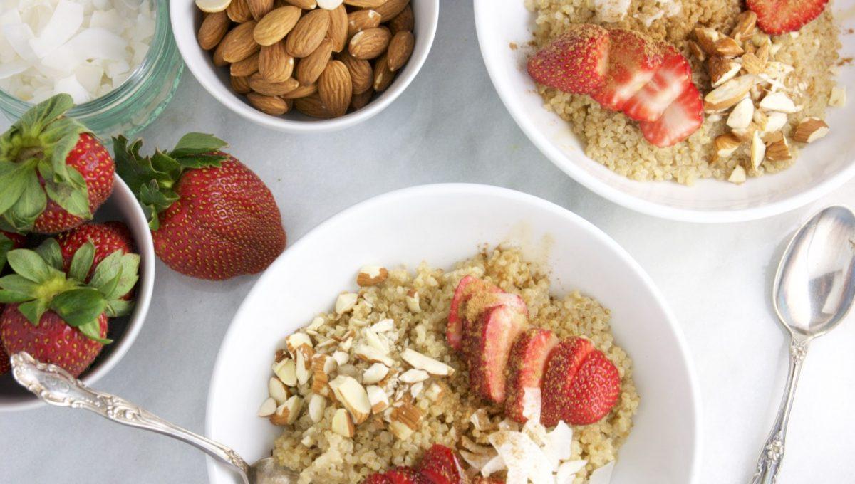 Strawberry Quinoa Breakfast Bowl 3